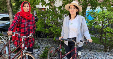 Donate a bike for women to learn on
