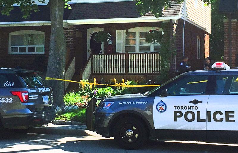 Police guard Greenwood homicide scene