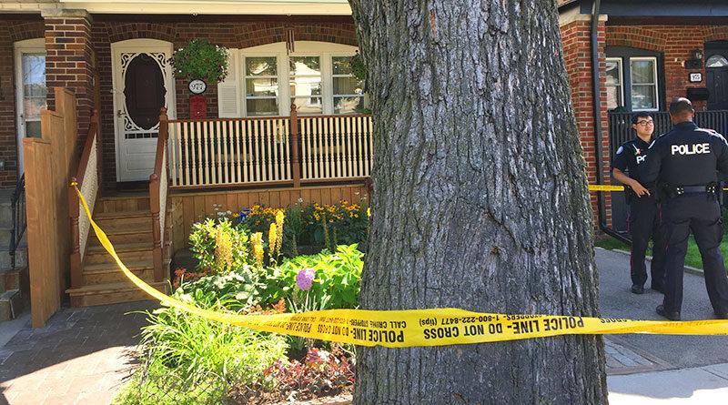 Greenwood homicide site