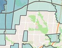 midtown coronavirus map
