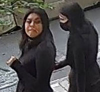 women in police robbery investigation