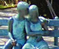 Secret Bench sculpture thumbnail