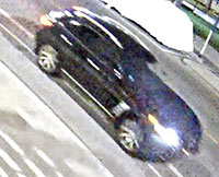 car sought by police