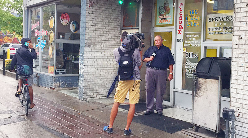 Media at bakery