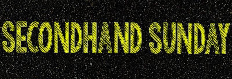 Secondhand Sunday header