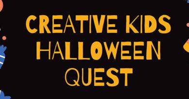 Creative Halloween header