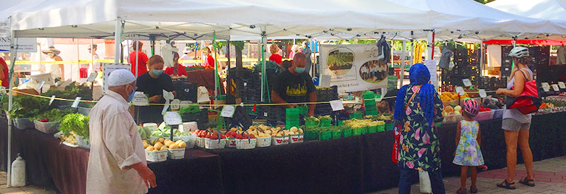 East York Farmer's Market header