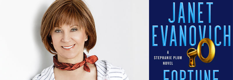 Janet Evanovich header
