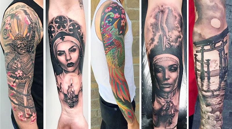 Pine Ink arm designs