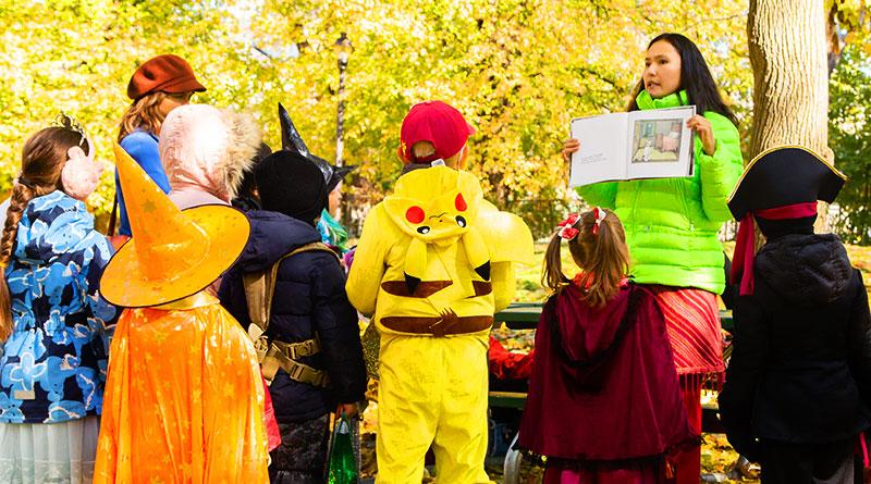 Halloween Quest story