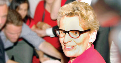 Kathleen Wynne during election