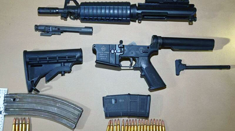 firearms seized in Graydon Hall area