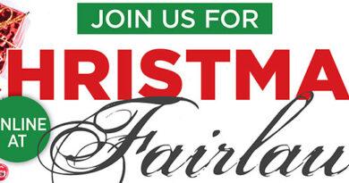 Fairlawn Christmas services header