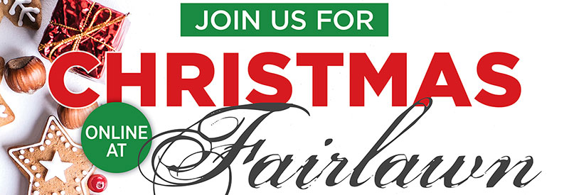 Fairlawn Christmas services header