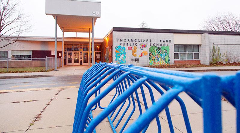 Thorncliffe Park Public School front view