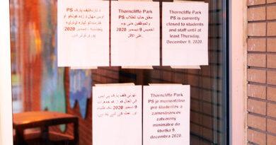 Thorncliffe Park Public School door