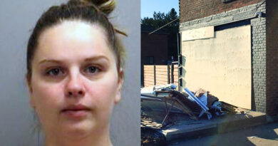 Woman wanted in explosion