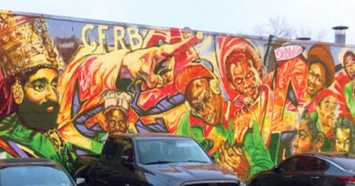 Little Jamaica mural