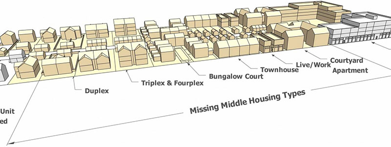 Missing middle housing designs