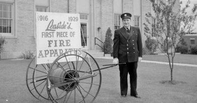 Leaside heritage photo of 1955