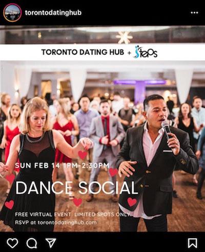 Valentine's Day dance social