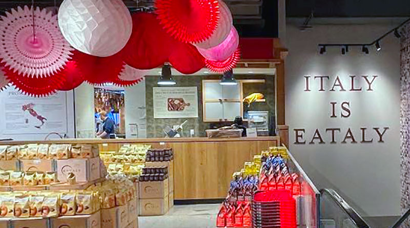Eataly for Valentine's Day