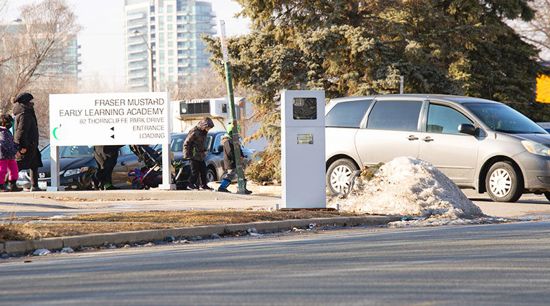 photo radar on Thorncliffe
