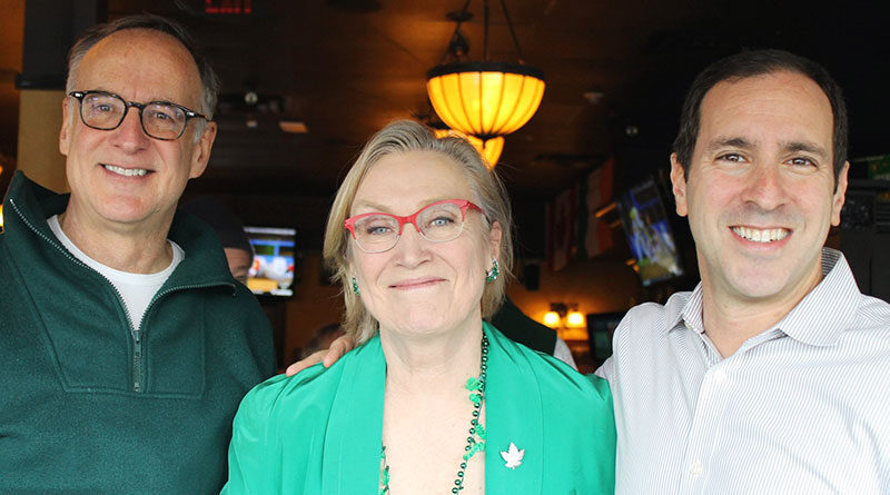 Carolyn Bennett with Oliphant and Matlow
