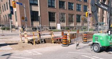College Street sinkhole