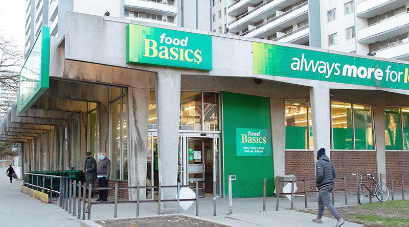 Food Basics store on Wellesley