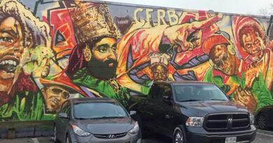 Little Jamaica mural