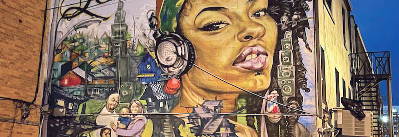 Reggae Lane mural header