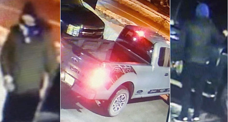 tow truck fire suspects