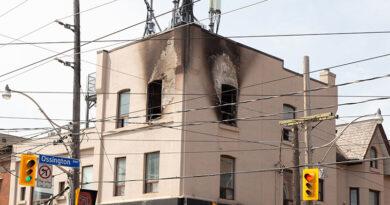 College-Ossington fire aftermath