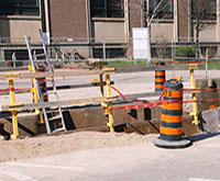 College Street sinkhole thumbnail