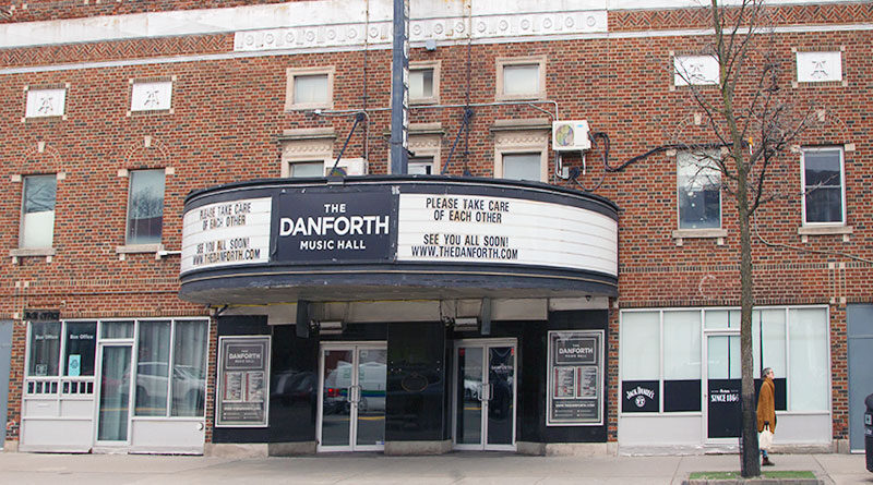 Live music venue Danforth Music Hall