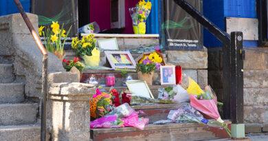 Michelle Ross memorial