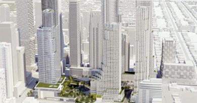 Yonge-Eglinton development from Duplex