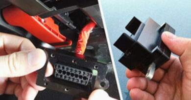 OBD lock to stop vehicle thefts