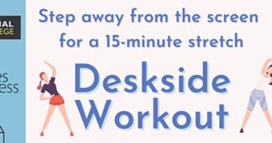deskside workout header