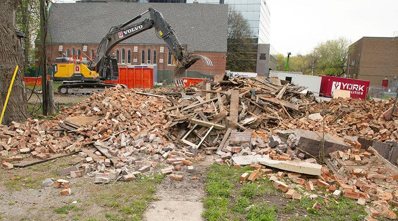4 Howard Street demolition