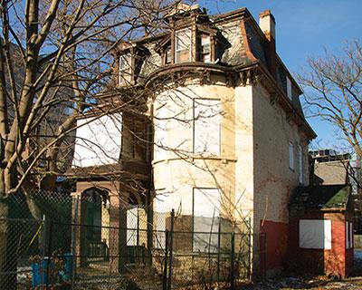 4 Howard St. before demolition