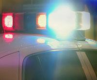 police cars at night thumbnail
