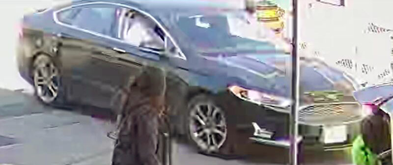 Ford Fusion suspect vehicle