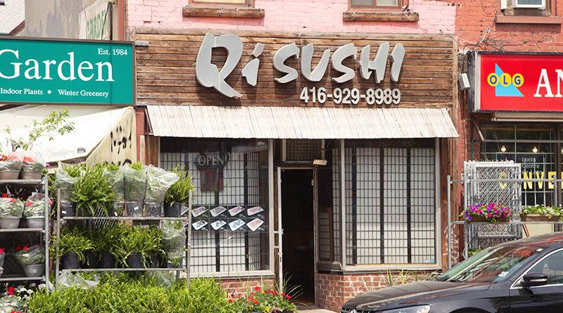 Qi Sushi on Gerrard