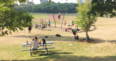 Outdoor recreation at Riverdale Park
