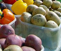 Leslieville Farmers' Market veggies thumbnail