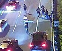 stunt drivers accident on DVP thumbnail