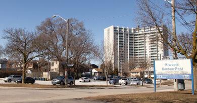 parking lot site for modular housing