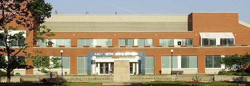 East York Civic Centre header